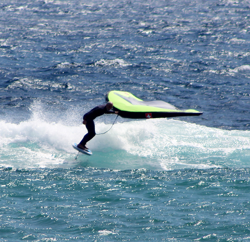 advanced wing foiling lanzarote
