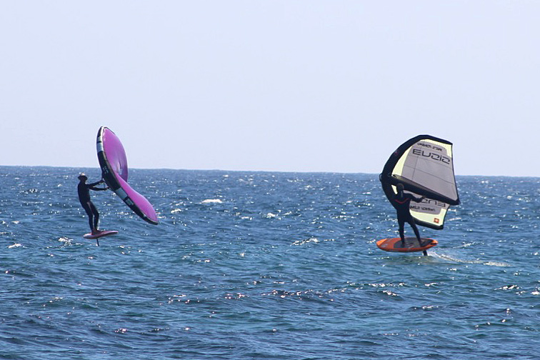 two wing foilers charcos costa teguise